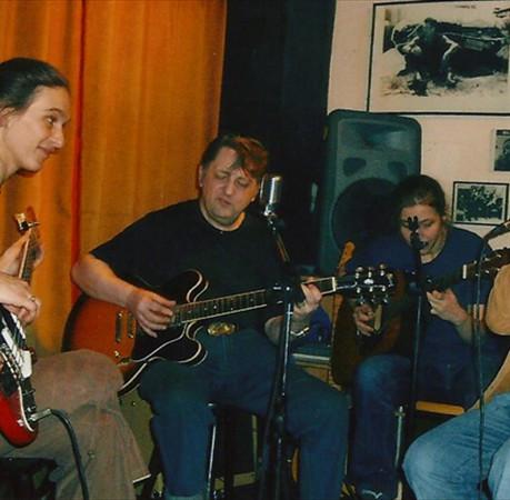 mit Al Cook und Oscar Klein