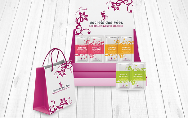 SECRET DES FEES packaging