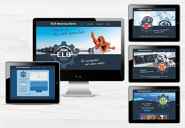 ELB MɉCANIQUE MARINE site internet