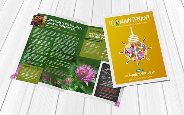 MAGAZINE ICI & MAINTENANT magazine numéro 1