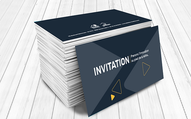 HABITAT FAMILIALE carton d'invitation