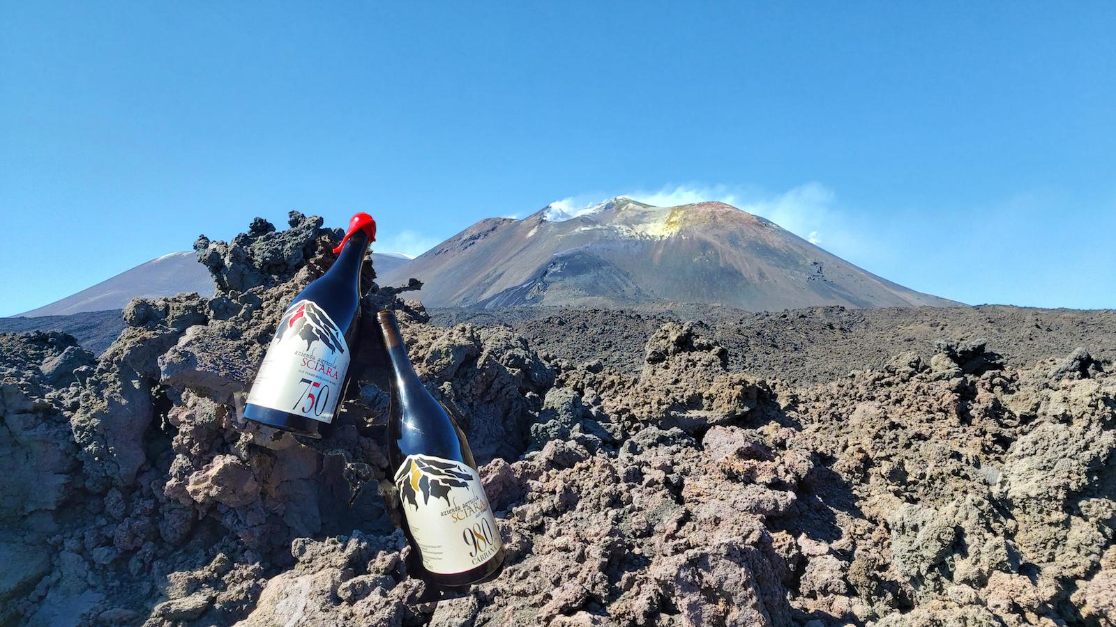 Bottles at Etna