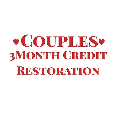 Couples 3Month Credit Restoration