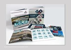 Дизайн и верстка буклетов для компании Мега-Строй