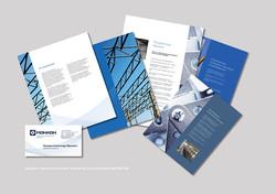 Дизайн и верстка буклета и визиток