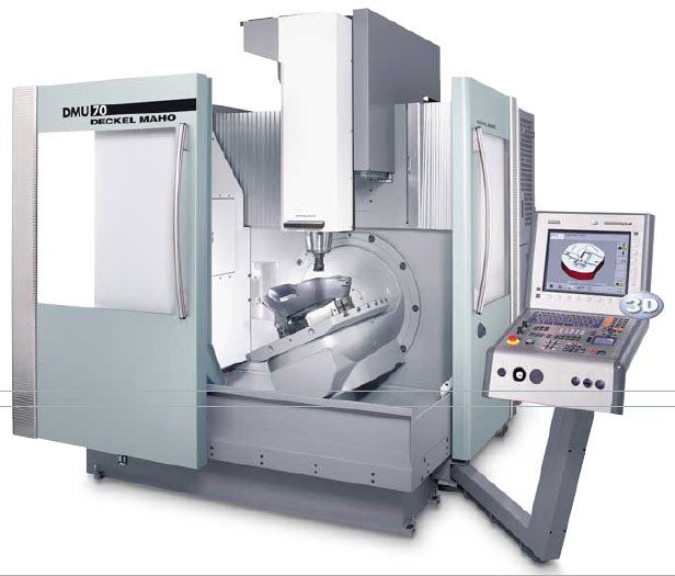 Centre d'usinage Vertical 5 axes DECKEL MAHO, Universal milling center