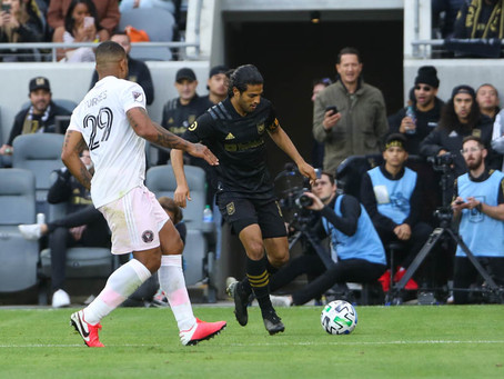 Carlos Vela Chip Shot Lifts LAFC 1-0 Over the Inter Miami CF