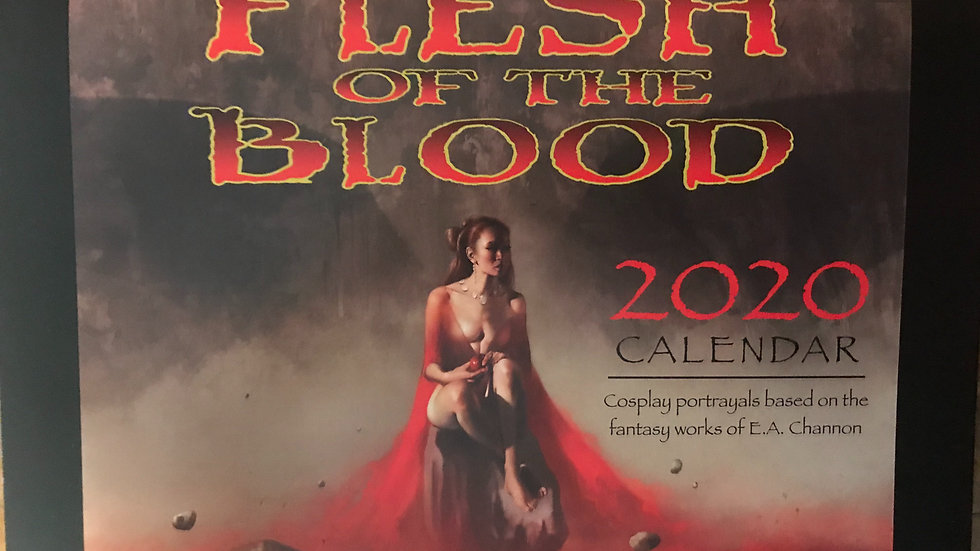 Flesh of the Blood Cosplay Calendar
