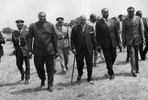 Idi Amin v  Jomo Kenyatta: the making of anti-heroes