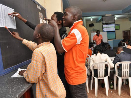 Young, male and living by the dice in Kampala