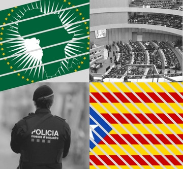 African leaders call for peacekeeping force in Catalonia