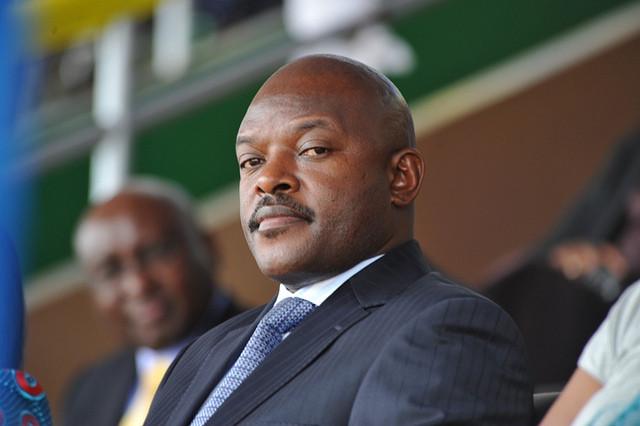Pierre Nkuruziza, President of Burundi