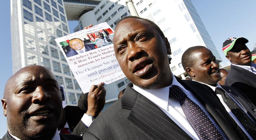 Uhuru Kenyatta, President of Kenya awaiting ICC trial