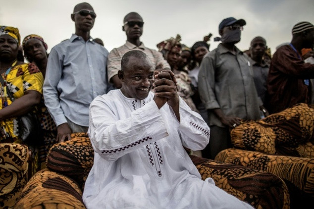 President Adama Barrow who succeeded Jammeh in Gambia