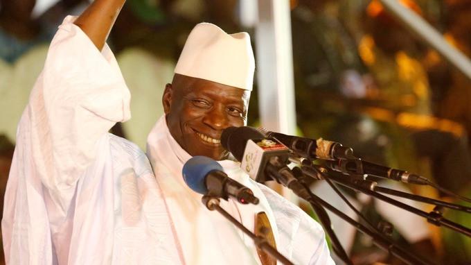 Yahya Jammeh ex-President Gambia