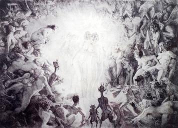 3685. 現代の地獄絵図:貧弱な人間観