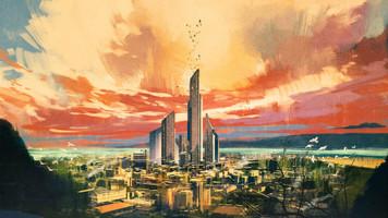 3278. 巨大なビルに向かう夢