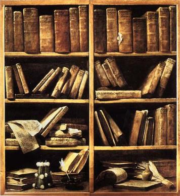 2031. 豪華な本棚の夢