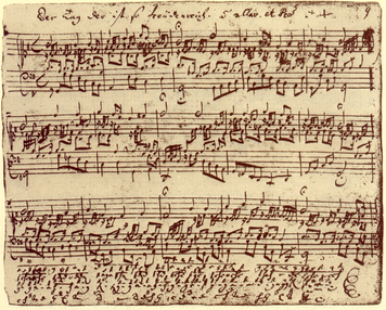 1074. 楽譜の筆写から得られたこと