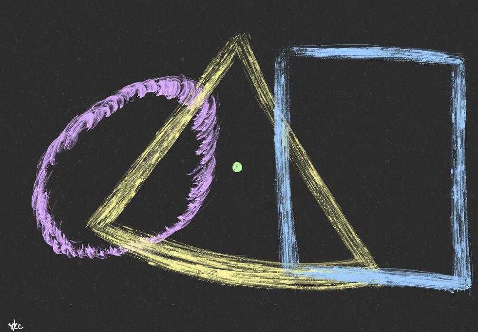 No.1517 朝の幾何学模様_Morning Geometric Patterns