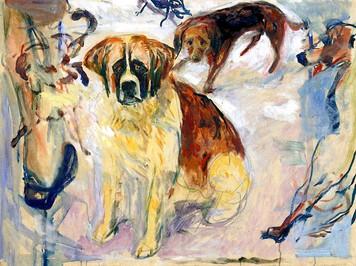 1595. デカルト犬と裸足の女性
