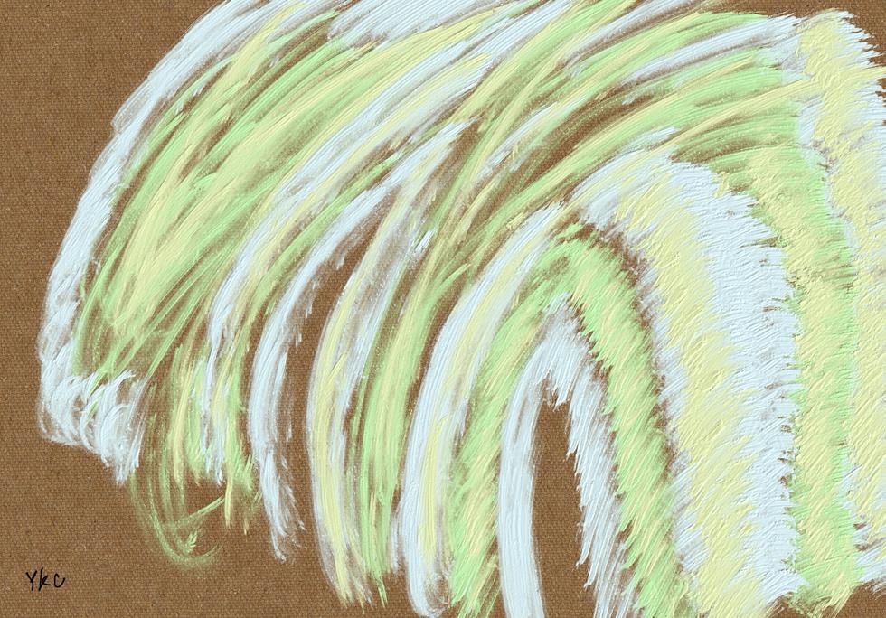 No.213 創造エネルギーの滝_A Waterfall of Creative Energy
