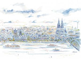 1664. 旧西ドイツの首都ボンの市内より