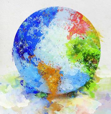 3686. 貧弱な人間観と貧弱な教育:地球儀を眺めて