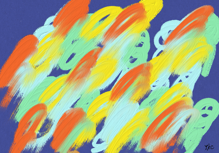 No.197 自由な動き_An Unconstrained Movement