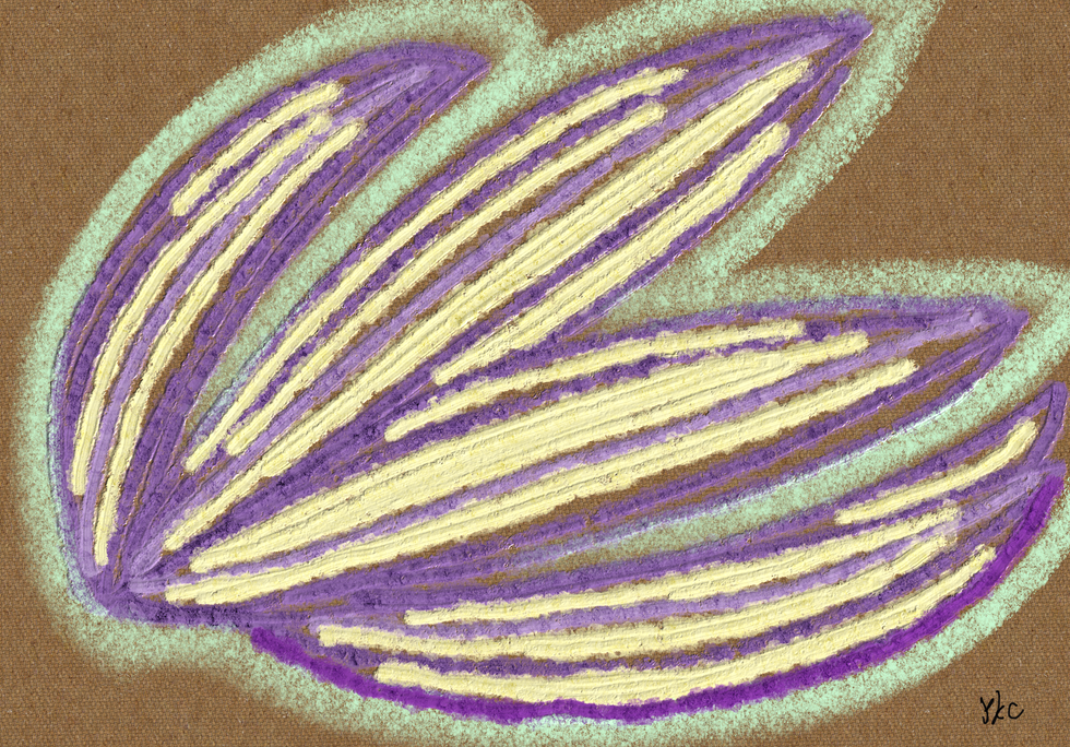 No.199 瞑想葉_Meditative Leaves