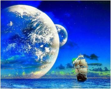 1394. 集合意識に浮かぶ船
