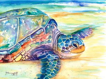 2586. ウミガメの絵を描く夢