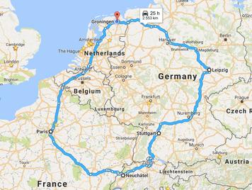 290. 欧州小旅行計画