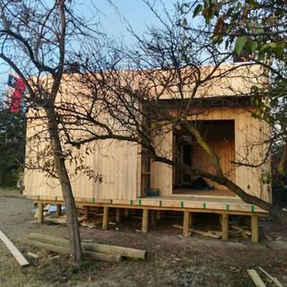Instalando casa 72m2__#CasasDeMadera #Ar