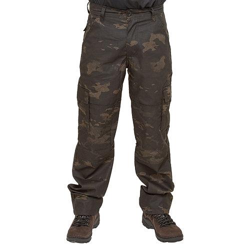 Calça Tática Fox Boy - Multicam Black