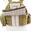Thumbnail: Colete Tático Plate Carrier Dacs Coyote