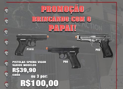 Kit Pistolas Airsoft 6mm