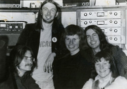 Me on the right with my first band 'Tumulus' Including Chris Burn and 'Solly'- May 1974_2