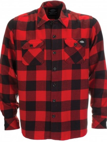 Dickies 'Sacramento' Shirt | Red