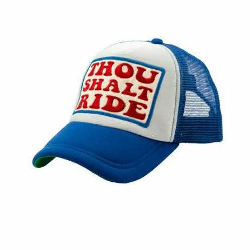 Cap Thou shalt ride | Blue