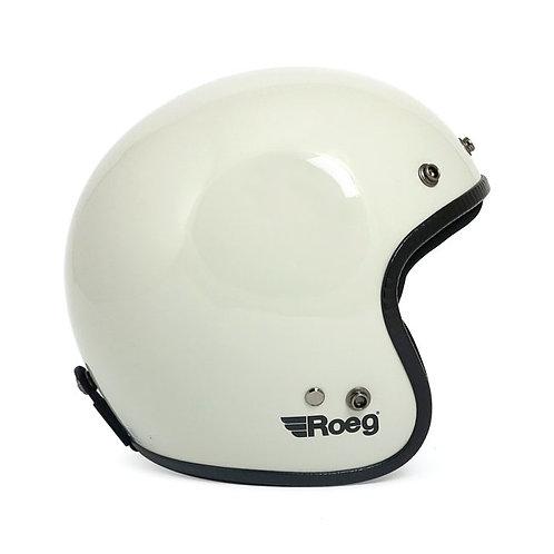 Roeg Jett Helmet - Fog White