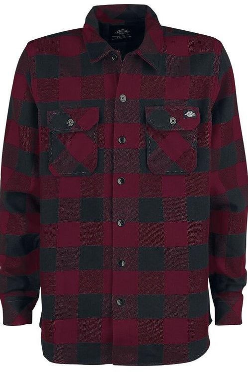 Dickies 'Sacramento' Shirt | Maroon