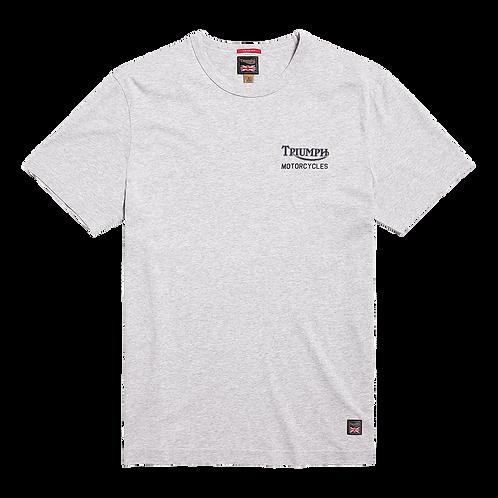 Triumph Adcote T-shirt Silver Marl
