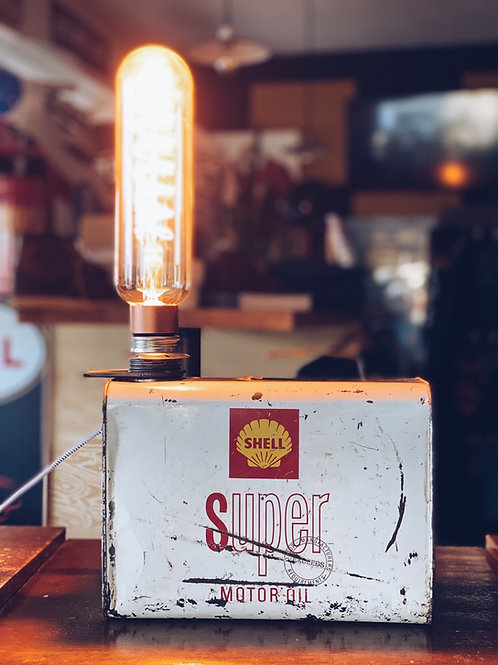 Shell Super Motor Oil light