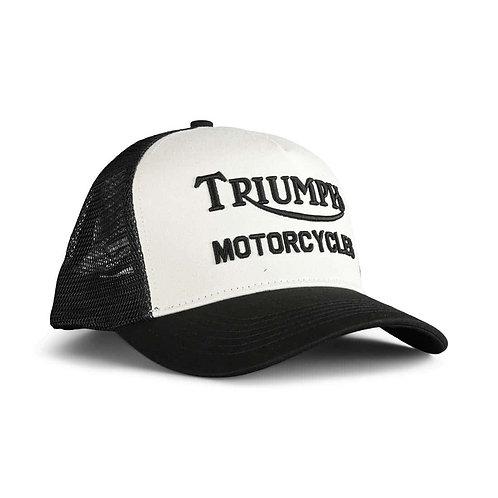 Triumph Oil Cap I Black - Bone