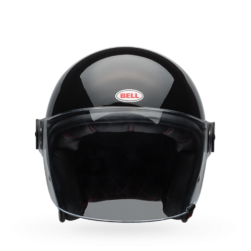 Bell Riot | Solid Gloss Black