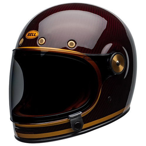 Bell Bullit Carbon Gloss Candy Red/Gold