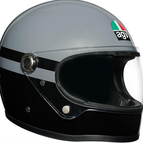 AGV X3000 Superba   Black-Grey