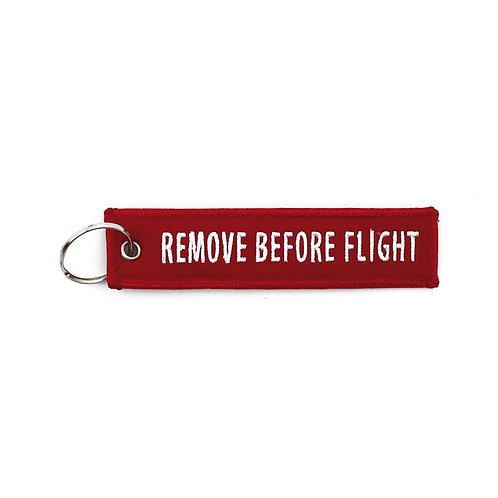 Key Ring 'Remove Before Flight'