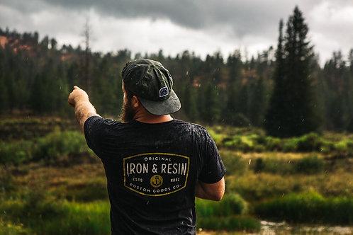 Iron & Resin Foundation T-Shirt | Black